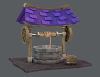 cartoon medieval 3D model