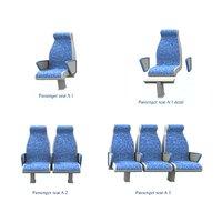 passenger seat 1 2 3D