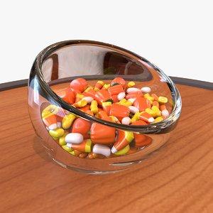 candy halloween 3D model