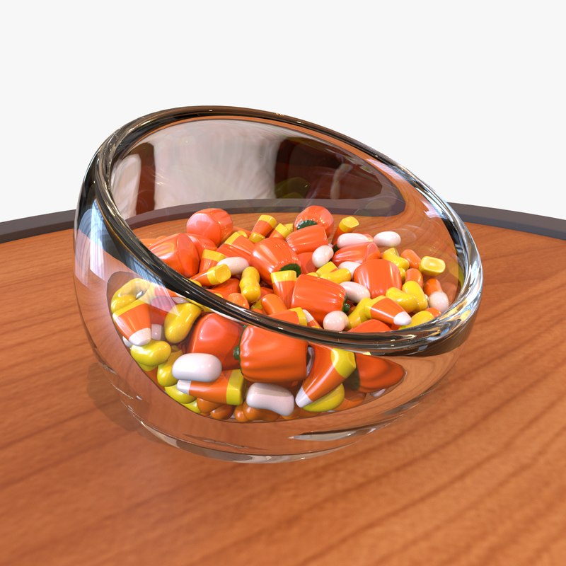 candy halloween 3D model