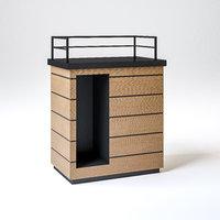 ritazza condiment table 3D model