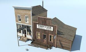 frontier restaurant model