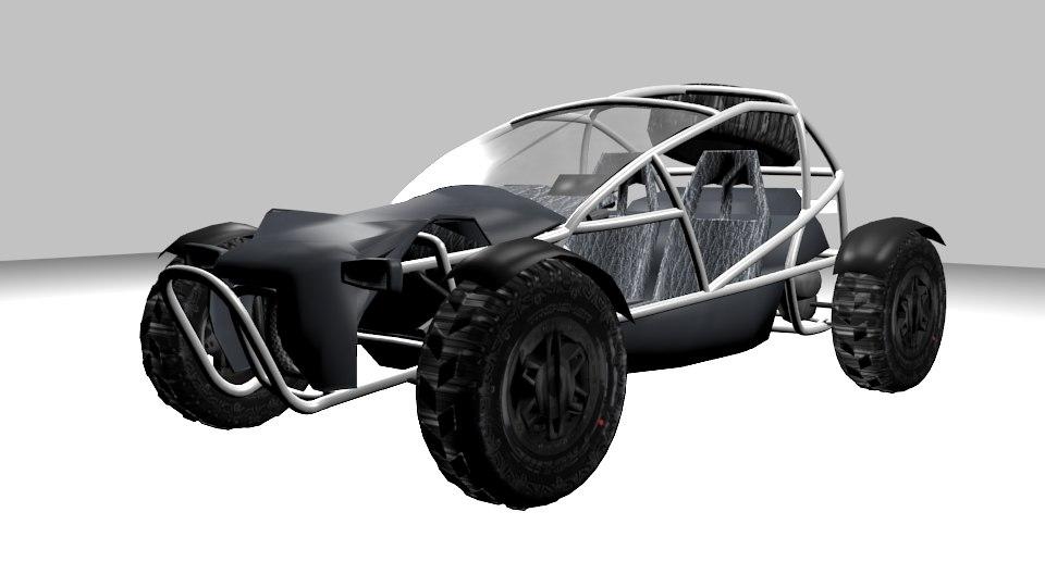 buggy ariel nomad 3D model