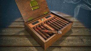cigars box 3D