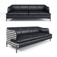 3D natuzzi saturday sofa model