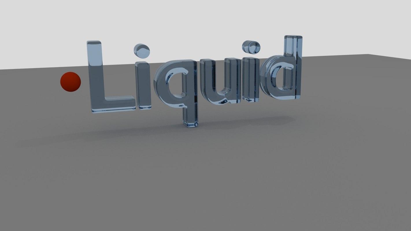 3D liquid blender