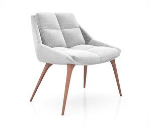 columbus lounge chair modloft model