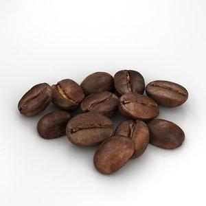 3D coffee bean