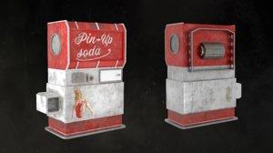 vintage vending machine 3D model
