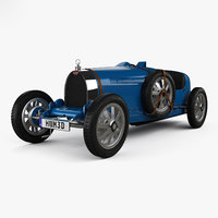 bugatti type 35 3D model