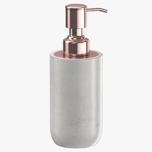 3D soap dispenser 03 model