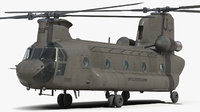 3D ch-47 chinook
