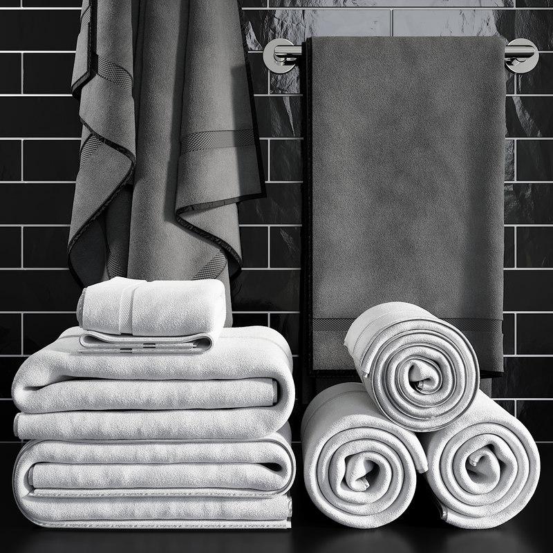 towels 1 3D