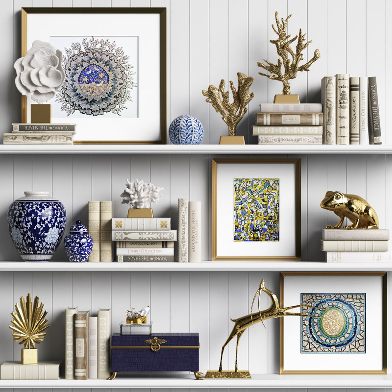 3D model decor set