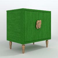 sheridan two-door chest 3D model