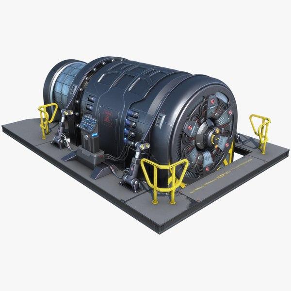 sci-fi generator pbr 3D