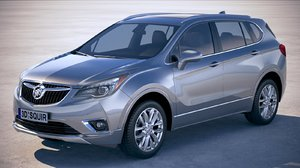 buick envision 2019 3D model