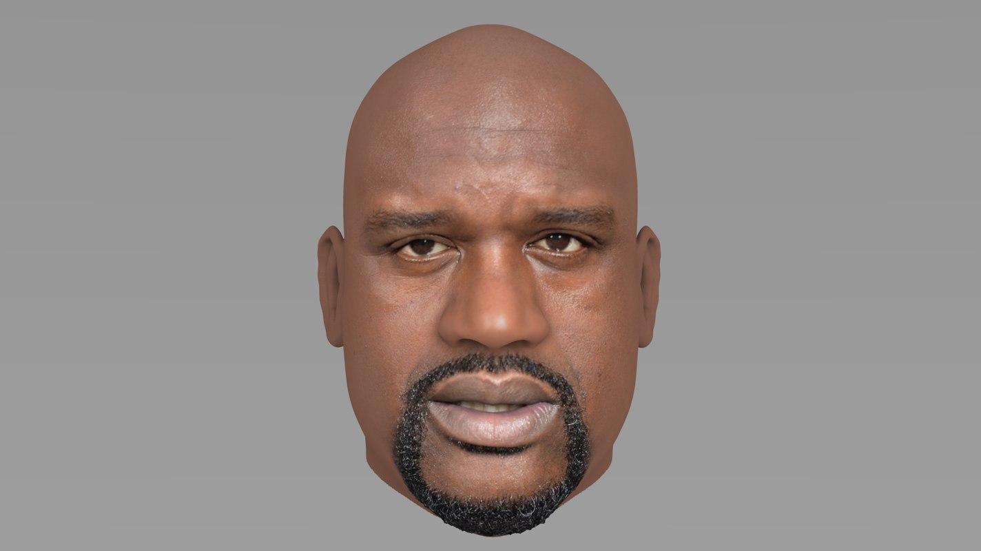 3D model shaq oneal