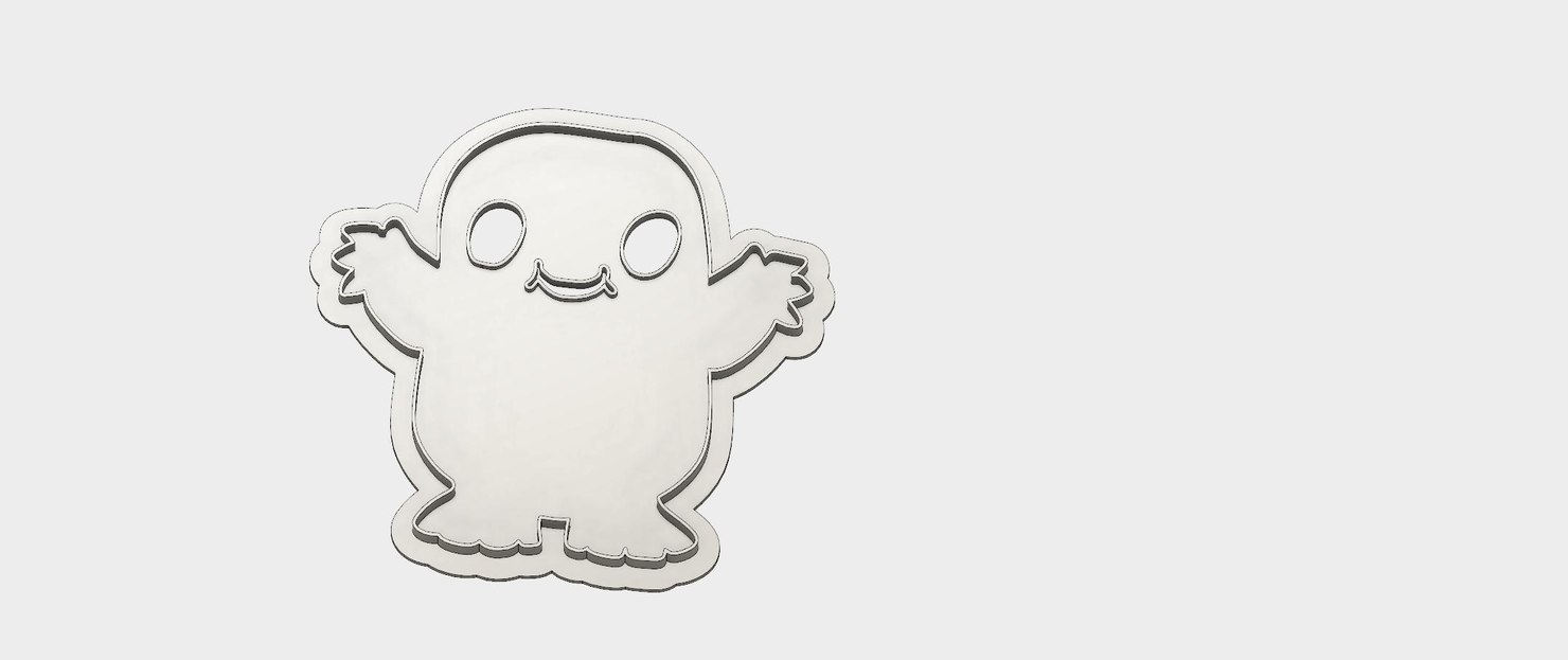 cookie cutter dr adipose 3D model