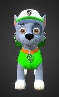 3D rocky paw patrol