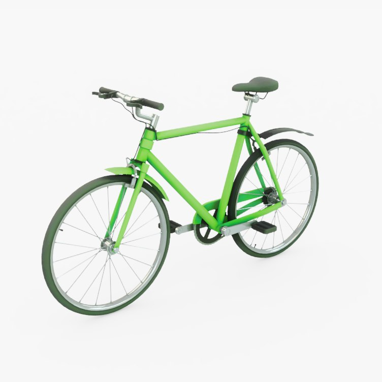 3D bicycle cycle model