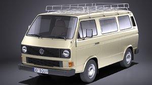 3D model 1979 1988 passenger