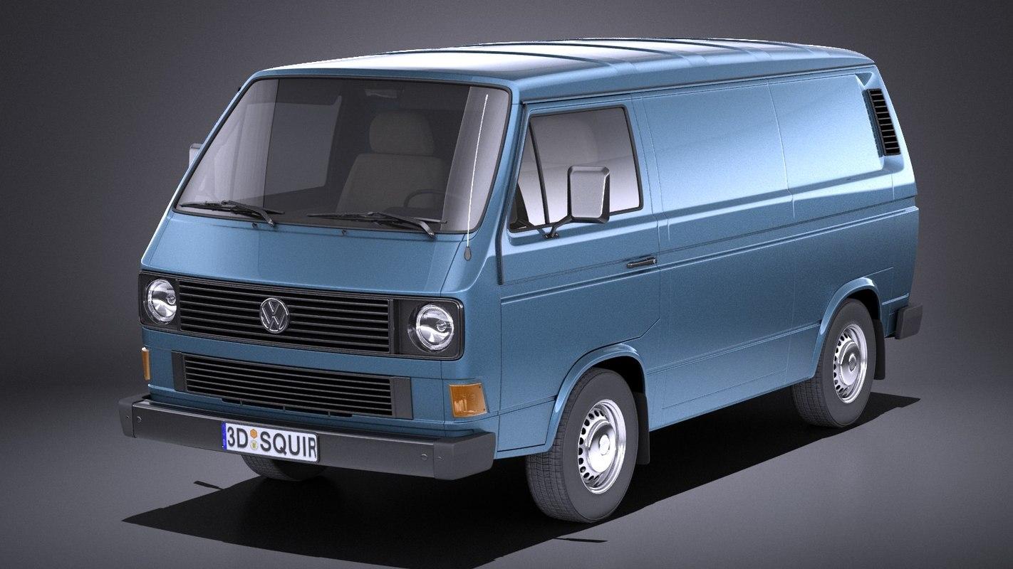 van 1979 1988 3D model