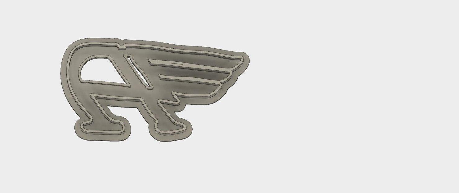 cutter austin england flying 3D model