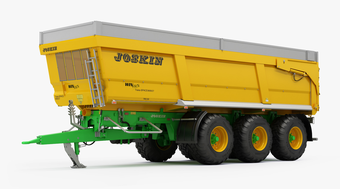 3D model joskin trans-space 8000 agricultural