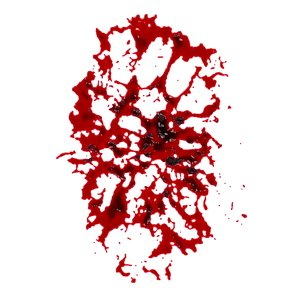 3D blood stain 6 model