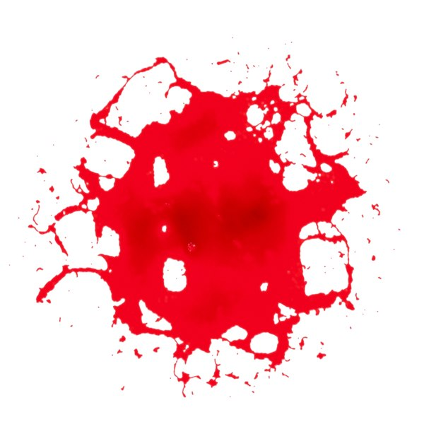 3D model blood stain 8