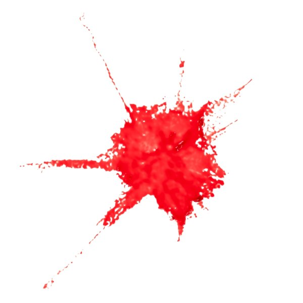 3D blood stain 9 model