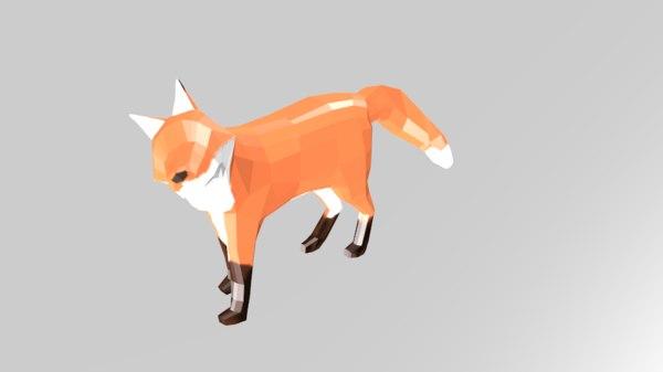 fox pepakura 3D model