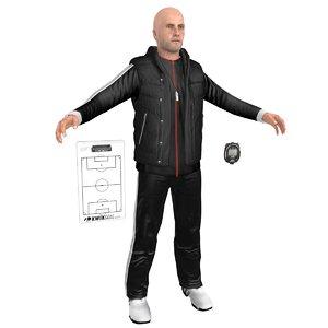 3D soccer coach