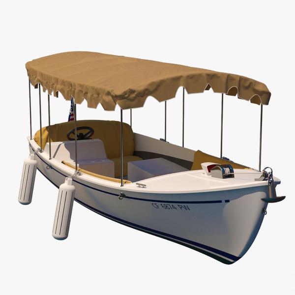 recreational boat water model