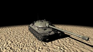 is-7 tank 3D model
