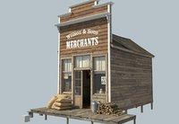 3D frontier store