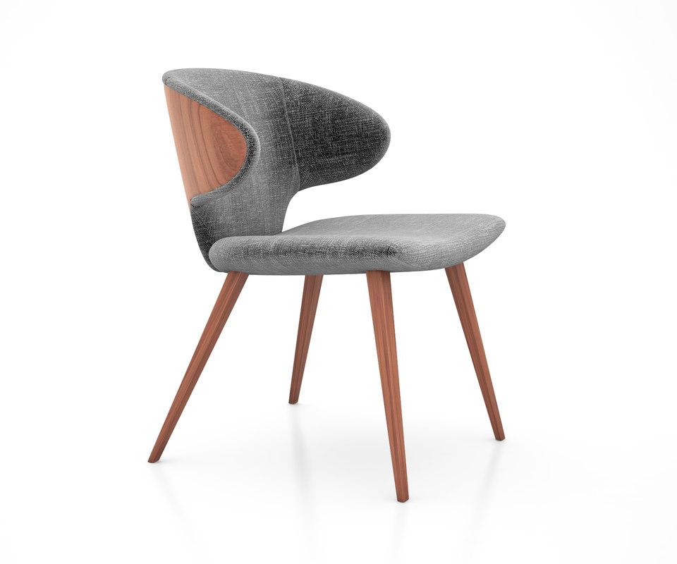 3D harper dining chair modloft