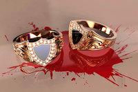 ring stones enamel 3D model