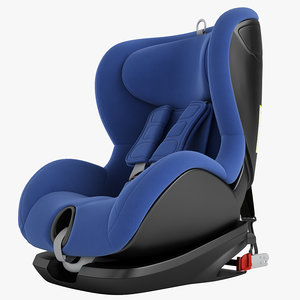3D children car chair