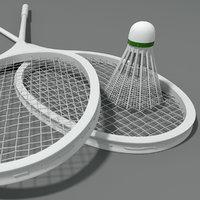 Classic badminton rackets