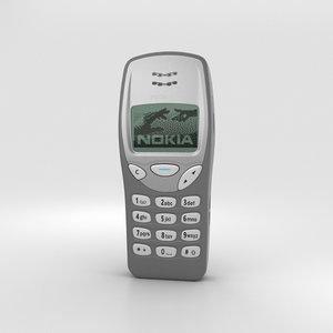 nokia 3210 3D model