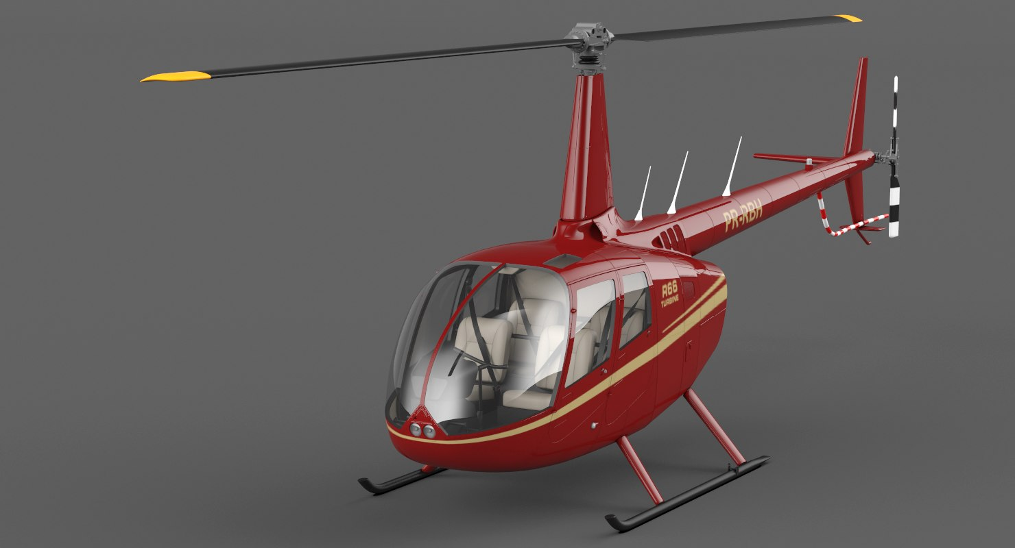 bell helicopter r66 3D