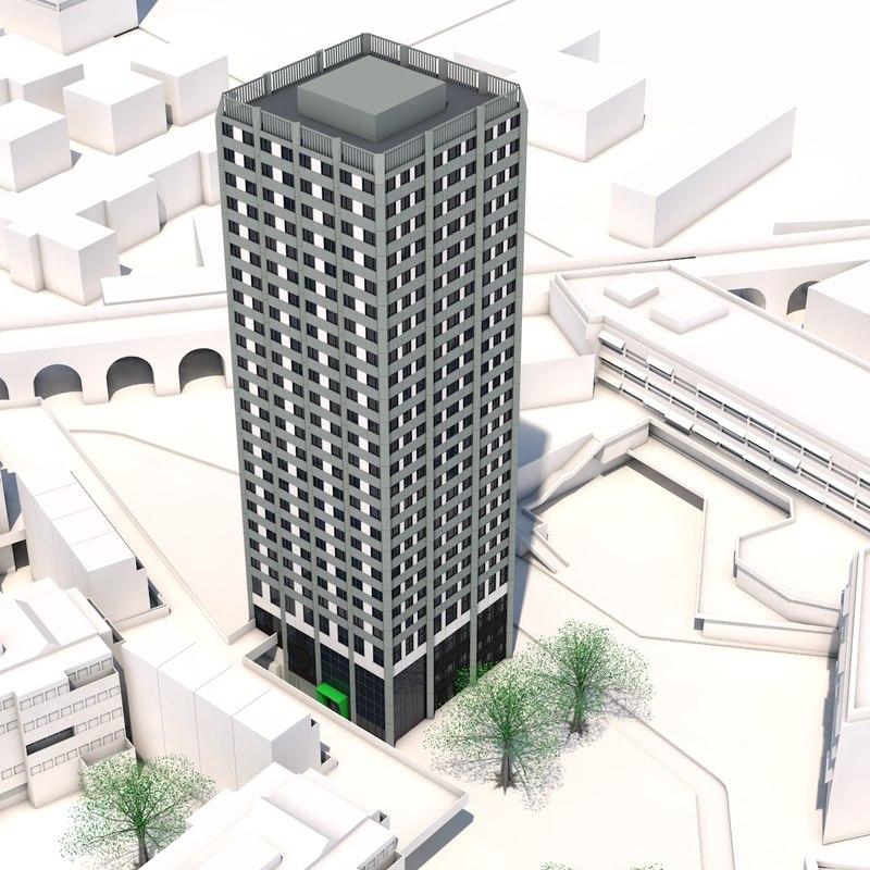 grenfell tower 3D model