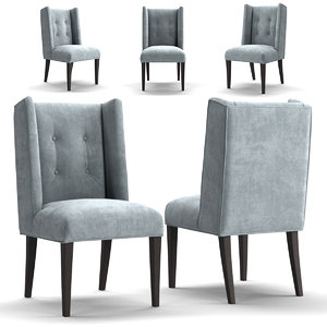 chair arhaus 3D model