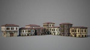 3D ottoman house