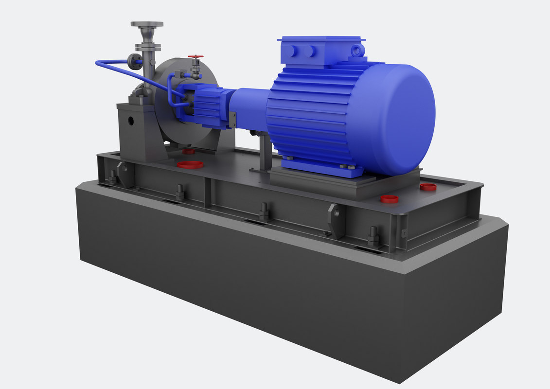 3D pump electric industrial