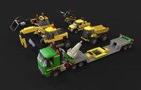 lego pack 3D model