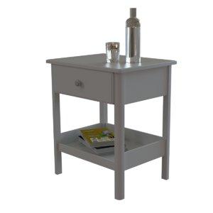 ikea tyssedal bedside table 3D model