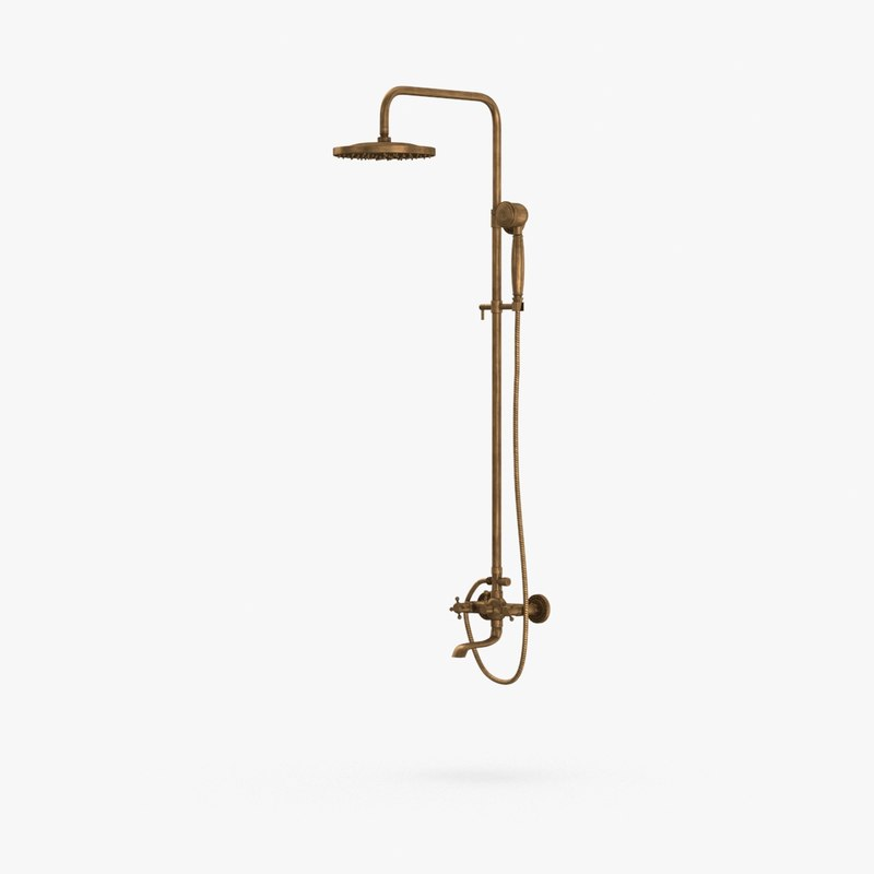 3D classical-shower---water-off
